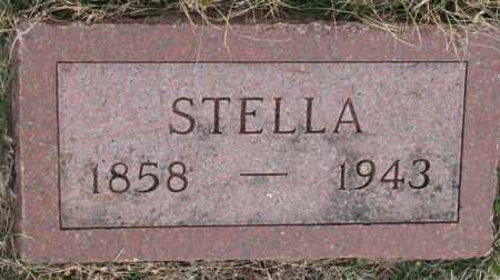HUBREGTSE, STELLA - Bon Homme County, South Dakota | STELLA HUBREGTSE - South Dakota Gravestone Photos