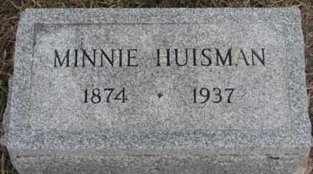HUISMAN, MINNIE - Bon Homme County, South Dakota | MINNIE HUISMAN - South Dakota Gravestone Photos
