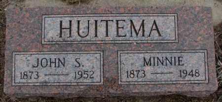 HUITEMA, JOHN S. - Bon Homme County, South Dakota | JOHN S. HUITEMA - South Dakota Gravestone Photos