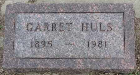 HULS, GARRET - Bon Homme County, South Dakota | GARRET HULS - South Dakota Gravestone Photos