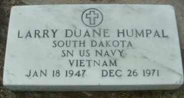HUMPAL, LARRY DUANE - Bon Homme County, South Dakota | LARRY DUANE HUMPAL - South Dakota Gravestone Photos