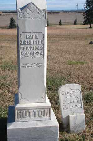 HUTTON, J.C. - Bon Homme County, South Dakota | J.C. HUTTON - South Dakota Gravestone Photos