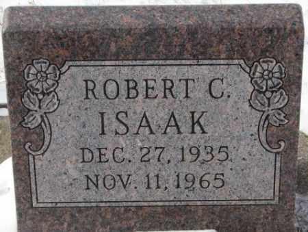ISAAK, ROBERT C. - Bon Homme County, South Dakota | ROBERT C. ISAAK - South Dakota Gravestone Photos