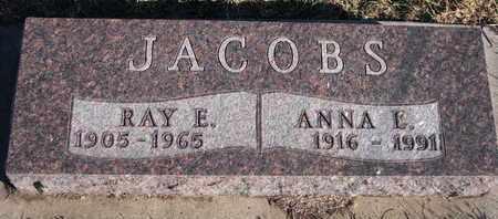 JACOBS, RAY E. - Bon Homme County, South Dakota | RAY E. JACOBS - South Dakota Gravestone Photos