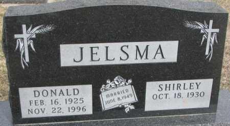 JELSMA, SHIRLEY - Bon Homme County, South Dakota | SHIRLEY JELSMA - South Dakota Gravestone Photos