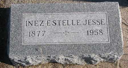 JESSE, INEZ ESTELLE - Bon Homme County, South Dakota   INEZ ESTELLE JESSE - South Dakota Gravestone Photos