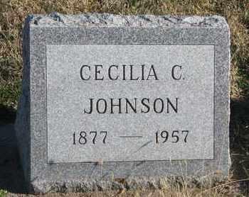 JOHNSON, CECILIA C. - Bon Homme County, South Dakota | CECILIA C. JOHNSON - South Dakota Gravestone Photos