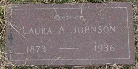 JOHNSON, LAURA A. - Bon Homme County, South Dakota | LAURA A. JOHNSON - South Dakota Gravestone Photos