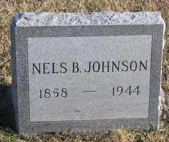 JOHNSON, NELS B. - Bon Homme County, South Dakota | NELS B. JOHNSON - South Dakota Gravestone Photos