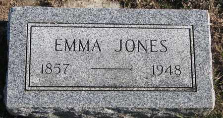 JONES, EMMA - Bon Homme County, South Dakota | EMMA JONES - South Dakota Gravestone Photos