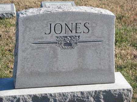 JONES, FAMILY STONE - Bon Homme County, South Dakota | FAMILY STONE JONES - South Dakota Gravestone Photos
