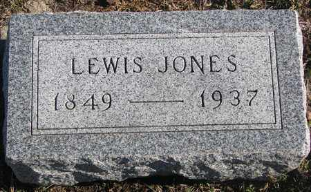 JONES, LEWIS - Bon Homme County, South Dakota | LEWIS JONES - South Dakota Gravestone Photos