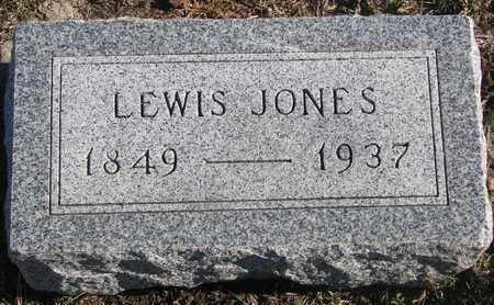 JONES, LEWIS - Bon Homme County, South Dakota | LEWIS JONES - South Dakota Gravestone Photos