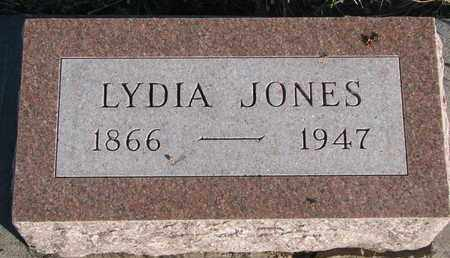 JONES, LYDIA - Bon Homme County, South Dakota   LYDIA JONES - South Dakota Gravestone Photos