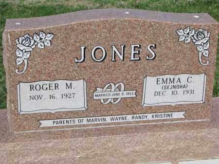 SEJNOHA JONES, EMMA C. - Bon Homme County, South Dakota | EMMA C. SEJNOHA JONES - South Dakota Gravestone Photos
