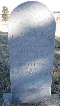 JONES, WALTER A. - Bon Homme County, South Dakota | WALTER A. JONES - South Dakota Gravestone Photos