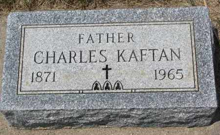 KAFTAN, CHARLES - Bon Homme County, South Dakota | CHARLES KAFTAN - South Dakota Gravestone Photos