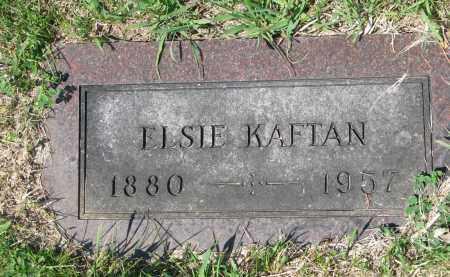 KAFTAN, ELSIE - Bon Homme County, South Dakota | ELSIE KAFTAN - South Dakota Gravestone Photos