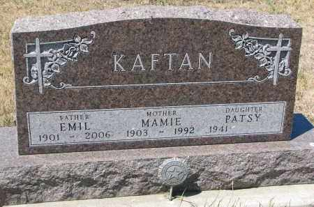 KAFTAN, PATSY - Bon Homme County, South Dakota | PATSY KAFTAN - South Dakota Gravestone Photos