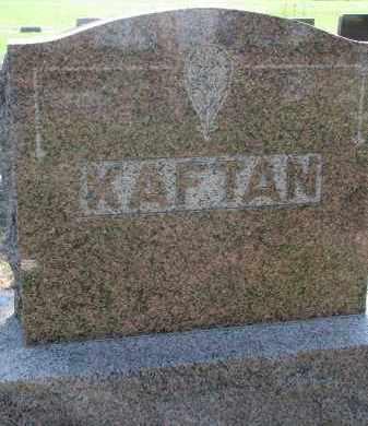KAFTAN, FAMILY STONE - Bon Homme County, South Dakota   FAMILY STONE KAFTAN - South Dakota Gravestone Photos