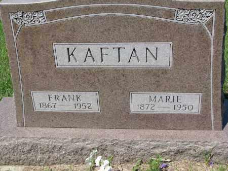 KAFTAN, FRANK - Bon Homme County, South Dakota | FRANK KAFTAN - South Dakota Gravestone Photos