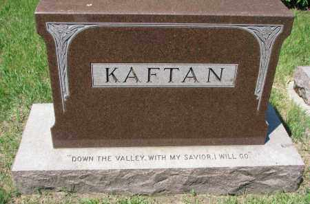 KAFTAN, FAMILY STONE - Bon Homme County, South Dakota | FAMILY STONE KAFTAN - South Dakota Gravestone Photos