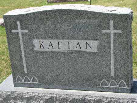 KAFTAN, FAMILY STONE - Bon Homme County, South Dakota | FAMILY STONE KAFTAN - South Dakota Gravestone Photos