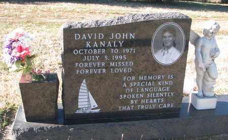 KANALY, DAVID JOHN - Bon Homme County, South Dakota | DAVID JOHN KANALY - South Dakota Gravestone Photos