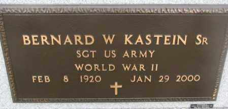 KASTEIN, BERNARD W. SR. (WW II) - Bon Homme County, South Dakota | BERNARD W. SR. (WW II) KASTEIN - South Dakota Gravestone Photos