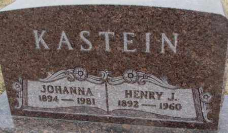 KASTEIN, JOHANNA - Bon Homme County, South Dakota | JOHANNA KASTEIN - South Dakota Gravestone Photos