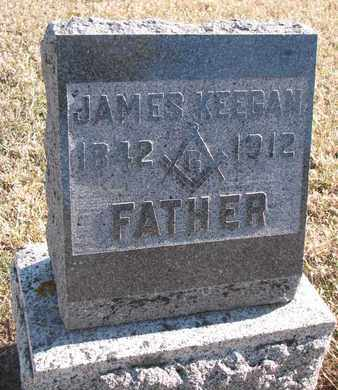 KEEGAN, JAMES - Bon Homme County, South Dakota | JAMES KEEGAN - South Dakota Gravestone Photos