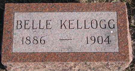 KELLOGG, BELLE - Bon Homme County, South Dakota | BELLE KELLOGG - South Dakota Gravestone Photos