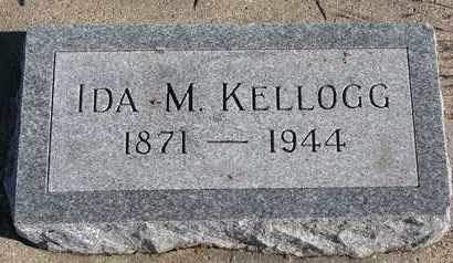 KELLOGG, IDA M. - Bon Homme County, South Dakota | IDA M. KELLOGG - South Dakota Gravestone Photos