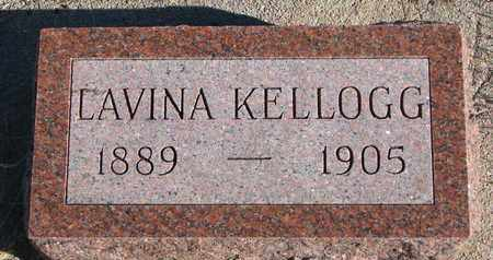 KELLOGG, LAVINA - Bon Homme County, South Dakota | LAVINA KELLOGG - South Dakota Gravestone Photos
