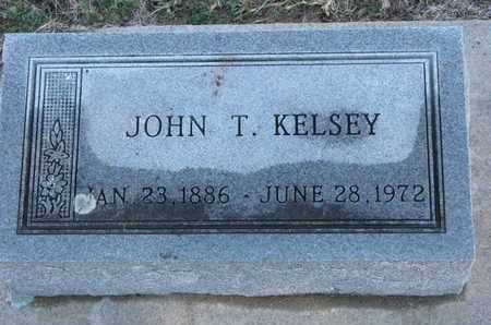 KELSEY, JOHN T. - Bon Homme County, South Dakota | JOHN T. KELSEY - South Dakota Gravestone Photos