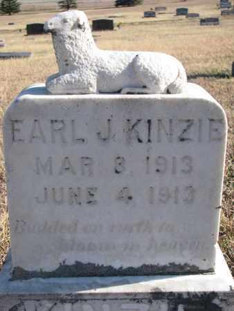 KINZIE, EARL J. - Bon Homme County, South Dakota   EARL J. KINZIE - South Dakota Gravestone Photos