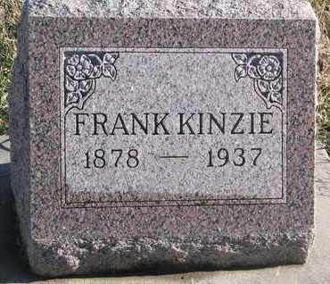 KINZIE, FRANK - Bon Homme County, South Dakota   FRANK KINZIE - South Dakota Gravestone Photos