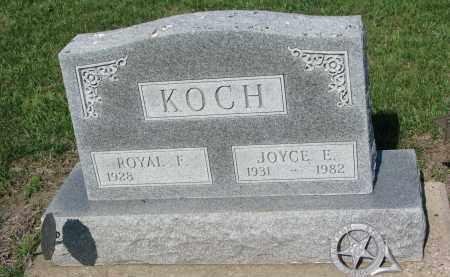 KOCH, JOYCE E. - Bon Homme County, South Dakota | JOYCE E. KOCH - South Dakota Gravestone Photos