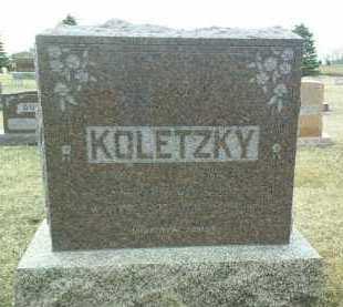 KOLETZKY, IGNAC - Bon Homme County, South Dakota | IGNAC KOLETZKY - South Dakota Gravestone Photos