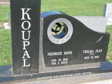 KOUPAL, FREDRICK DAVID - Bon Homme County, South Dakota | FREDRICK DAVID KOUPAL - South Dakota Gravestone Photos
