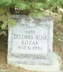 KOZAK, DELORES - Bon Homme County, South Dakota   DELORES KOZAK - South Dakota Gravestone Photos