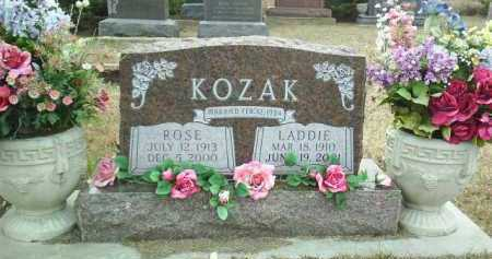 KOZAK, LADDIE - Bon Homme County, South Dakota | LADDIE KOZAK - South Dakota Gravestone Photos