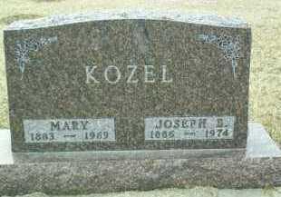 KOZEL, JOSEPH - Bon Homme County, South Dakota | JOSEPH KOZEL - South Dakota Gravestone Photos
