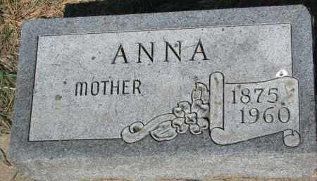 KRAMAR, ANNA - Bon Homme County, South Dakota | ANNA KRAMAR - South Dakota Gravestone Photos