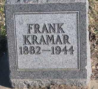 KRAMAR, FRANK - Bon Homme County, South Dakota   FRANK KRAMAR - South Dakota Gravestone Photos