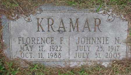 KRAMAR, FLORENCE F. - Bon Homme County, South Dakota | FLORENCE F. KRAMAR - South Dakota Gravestone Photos