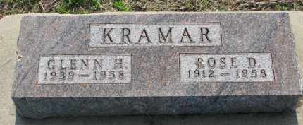 KRAMAR, GLENN H. - Bon Homme County, South Dakota | GLENN H. KRAMAR - South Dakota Gravestone Photos