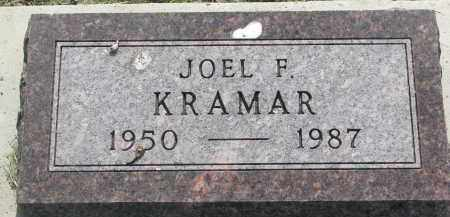 KRAMAR, JOEL F. - Bon Homme County, South Dakota | JOEL F. KRAMAR - South Dakota Gravestone Photos