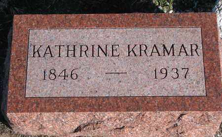 KRAMAR, KATHRINE - Bon Homme County, South Dakota | KATHRINE KRAMAR - South Dakota Gravestone Photos