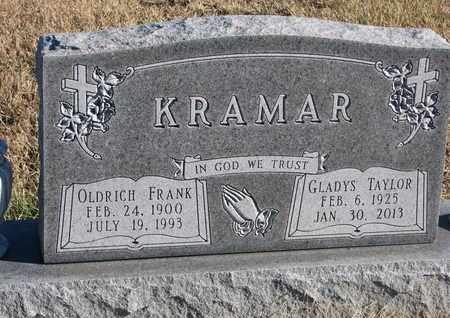 KRAMAR, OLDRICH FRANK - Bon Homme County, South Dakota | OLDRICH FRANK KRAMAR - South Dakota Gravestone Photos